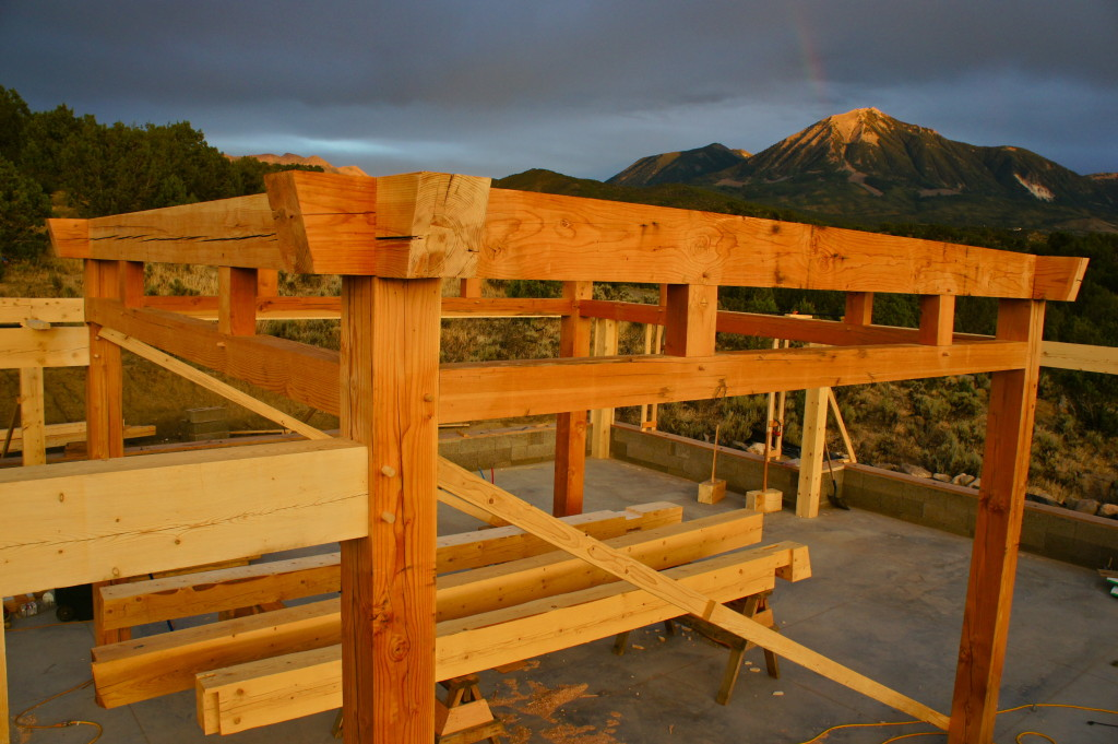 Paonia Timber frame