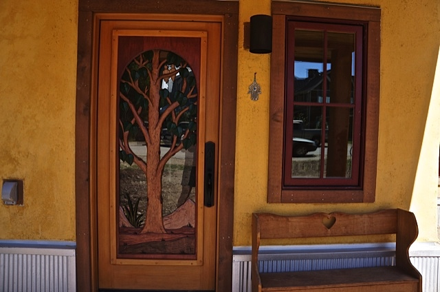 sopris custom door carving