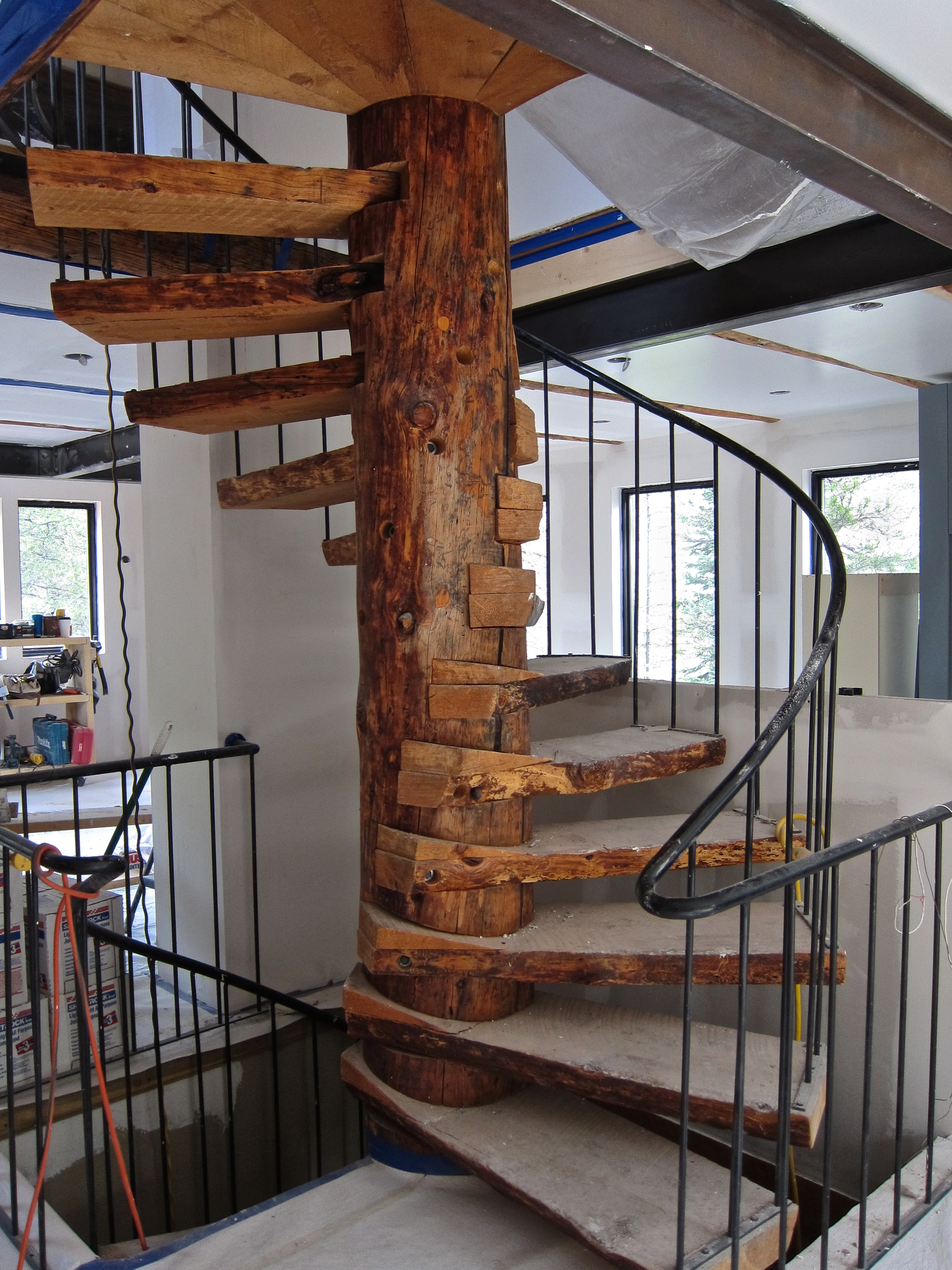 Treehouse Spiral Stair