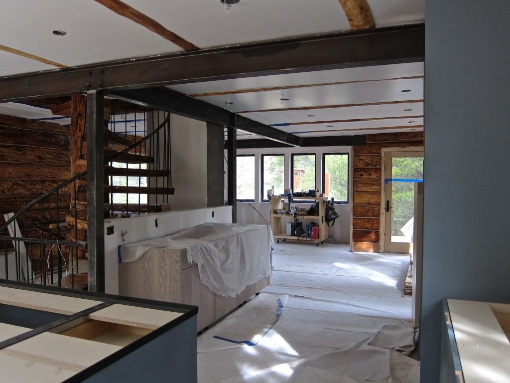 Treehouse drywall phase