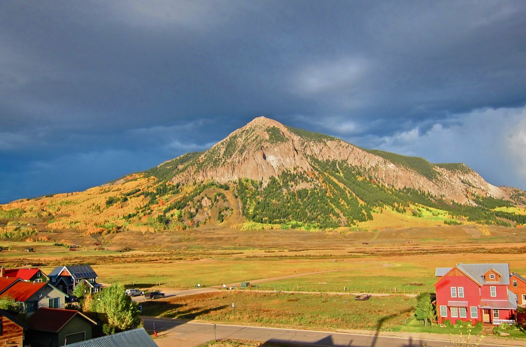 Crested Butte Mountain Fall