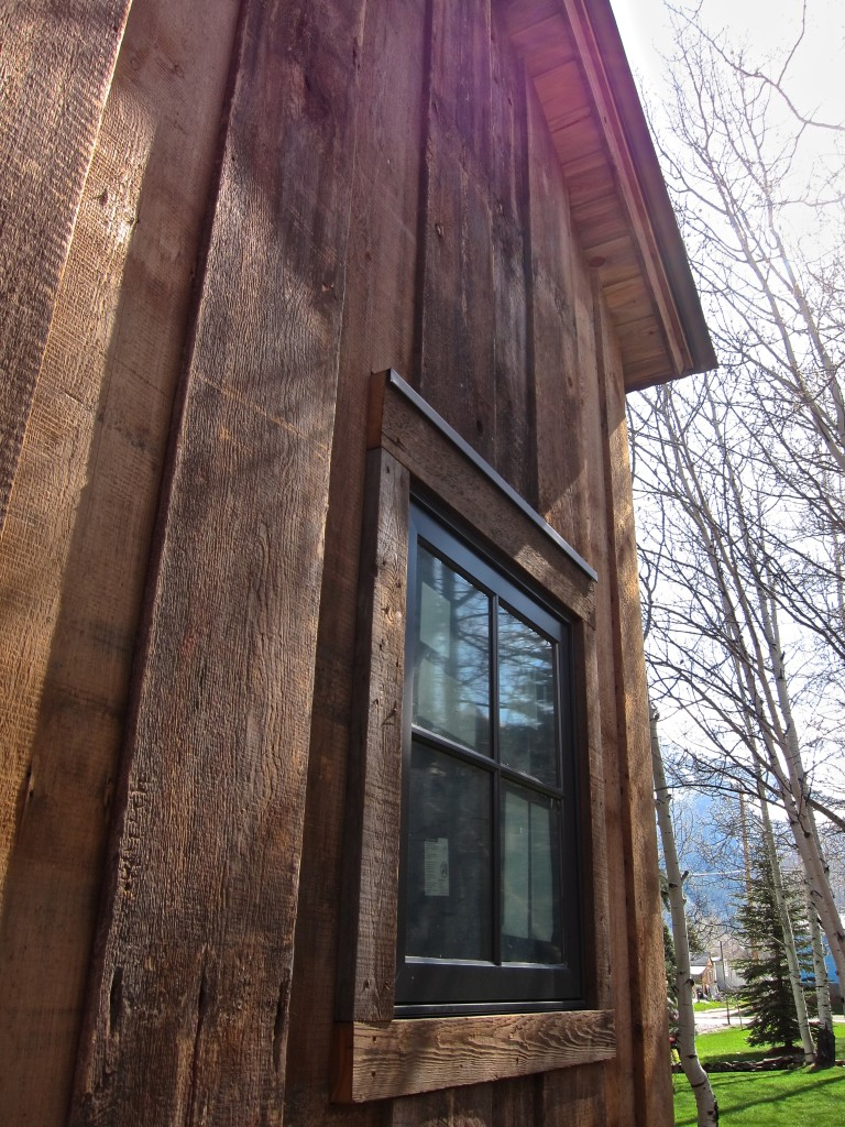 reclaimed wood siding