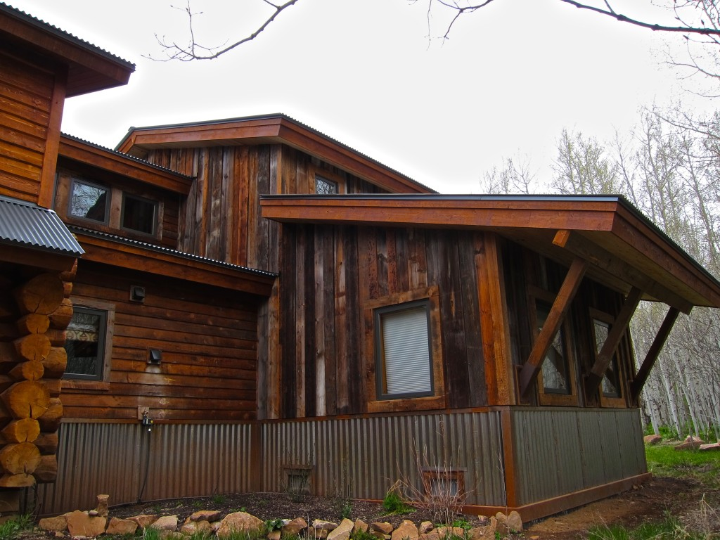 cabin addition side