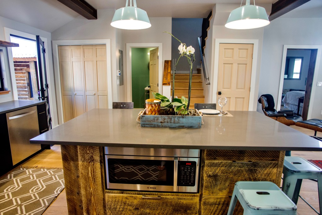 1st street custom kitchen island